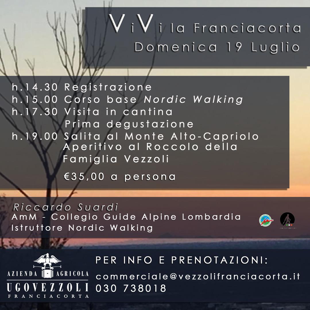 vivi la franciacorta Ugo Vezzoli - Vini in Franciacorta
